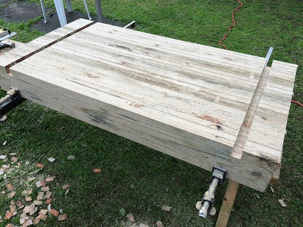 Interlocking Garden Bed Box : Clean Out the Grooves