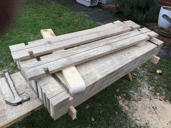 Interlocking Garden Bed Box : Make some Half-Height Boards