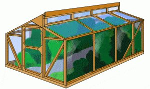 Greenhouse Drawing 2