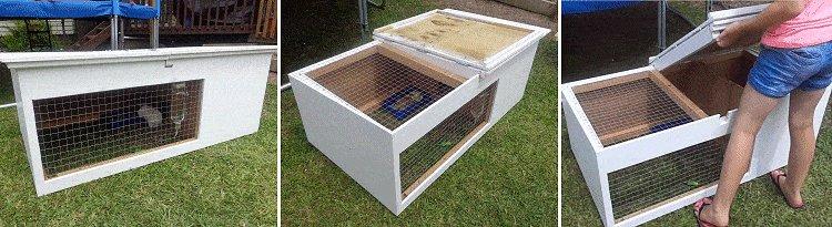 Guinea Pig Hutch Plans : Final