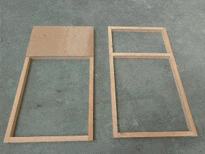 Guinea Pig Hutch Plans : Top and Bottom Frames