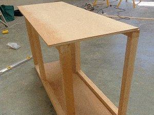Guinea Pig Hutch Plans : Fix Front and Rear Walls 2