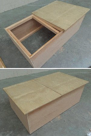 Guinea Pig Hutch Plans : Box for the Lid