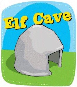 Elf Cave Illustration
