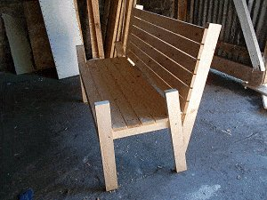 Bench Seat Plans : Add Intermediate Slats