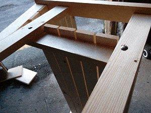 Bench Seat Plans : Bolt the Frame Together