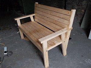 Bench Seat Plans : Finish