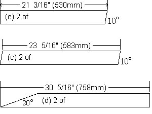 Bench Seat Plans : Angle Cuts