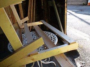 Bench Seat Plans : Fix Two Back Rest Slats