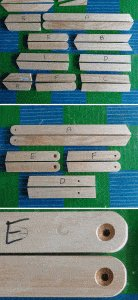 Kids' 2 in 1 Bench and Picnic Table Plan : Cut and drill the Frame Pieces