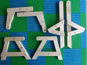 Kids' 2 in 1 Bench and Picnic Table Plan : Frame Sections