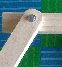Kids' 2 in 1 Bench and Picnic Table Plan : Bolt as a Pivot Point