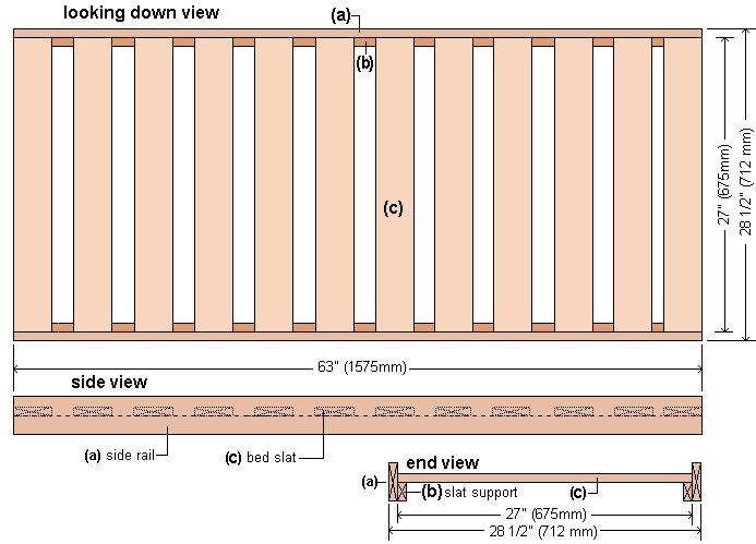 Racing Car Kids Bed Plan