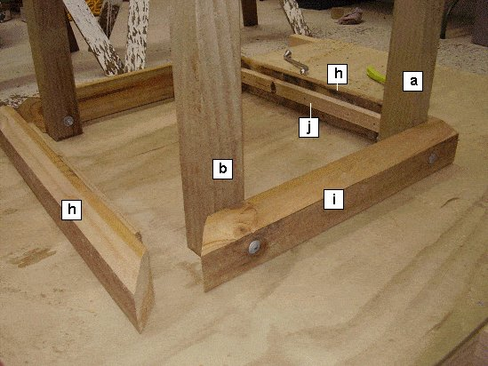 King Chair Plans : Chair Base