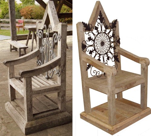 King Chair : Picture