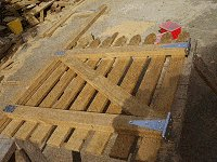 Picket Gate Plan : Add the Brace and Hinges