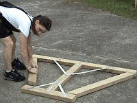 Traditional Picnic Table Plans : Place the Legs