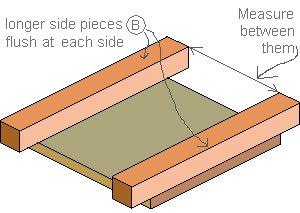 Planter Box : Side Piece Measures
