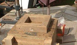 Planter Box Footer