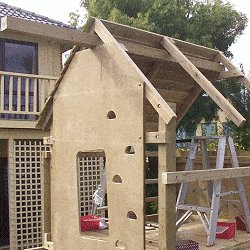 Kid's Play Fort Plan : Playfort Beam Roof