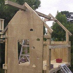 Kid's Play Fort Plan : Playfort Beam Toprail