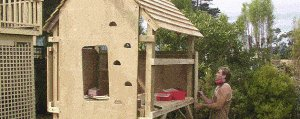 Kid's Play Fort Plan : Boards On