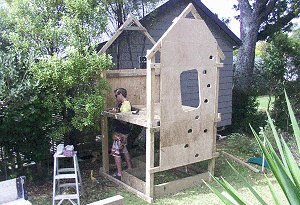 Kid's Play Fort : Playfort Construction