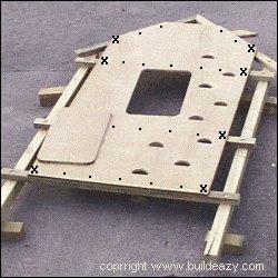 Kid's Play Fort Plan : Playfort Frame 2