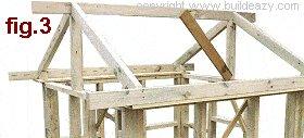 Playhouse Plans : Roof Beam 2
