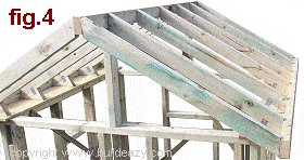 Playhouse Plans : Roof Rafters