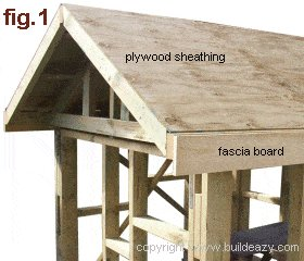Playhouse Plans : Roof Sheating