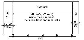 playhouse side marking