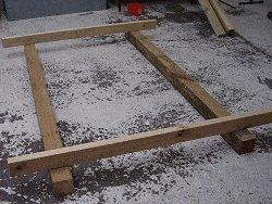 Plywood Playhouse Plan : Making the Floor