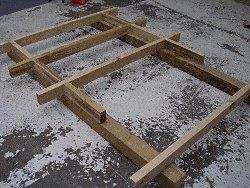 Plywood Playhouse Plan : Floor Joists