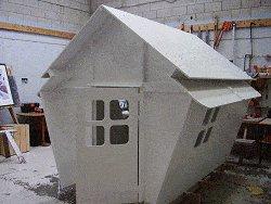 Plywood Playhouse Plan : Undercoat
