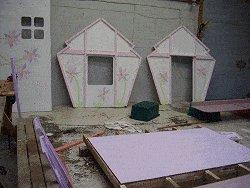 Plywood Playhouse Plan : Paint