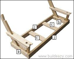 Porchswing Seat Plan : Parts