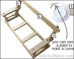 Porchswing Seat Plan : Back Slat Support