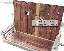 Porchswing Seat Plan : Draw Pattern