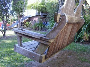Porchswing Seat Plan : Back Picture