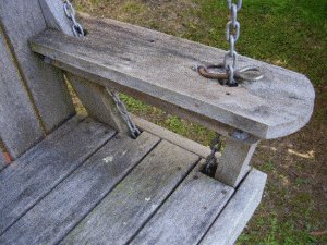Porchswing Seat Plan : Inside Arm Picture