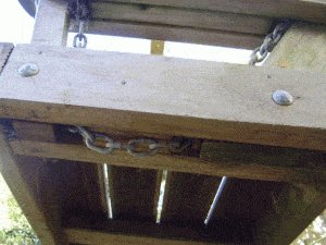 Porchswing Seat Plan : Under Side Picture