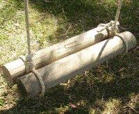 Rope Swing : Log Seat