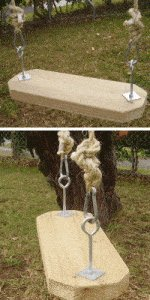 Rope Swing : Wood Seat