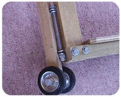 Scooter Plan : Attach the Steering Assembly