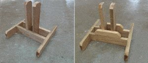Seesaw with Sliding Seats : Base Pieces