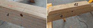 Seesaw with Sliding Seats : Prepare the Beam