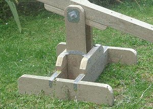Seesaw with Sliding Seats : Seesaw Sliding Straps