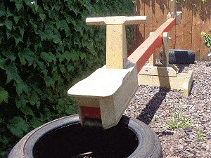 Seesaw with Sliding Seats : Seesaw sliding Tires