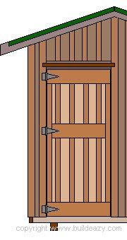Shed Door Plan